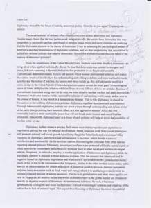 Social Studies Essay Examples