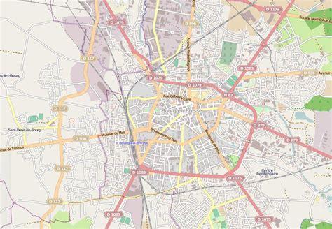 carte et plan de bourg en bresse 01000 htel tourisme