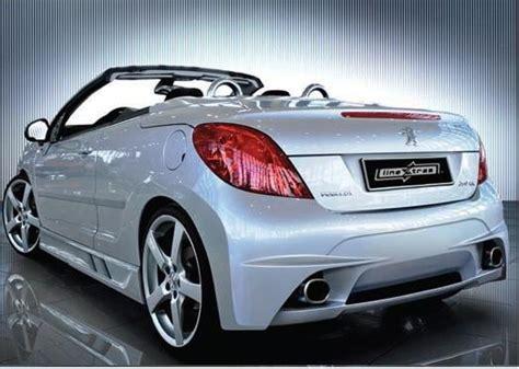 peugeot 207 cc tuning paraurti posteriore tuning peugeot 207 cc