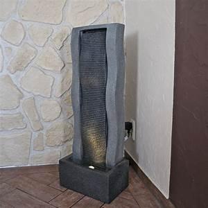 Brunnen Für Balkon : wasser wand brunnen f r balkon terrasse garten und innen springbrunnen eur 299 95 picclick de ~ Markanthonyermac.com Haus und Dekorationen