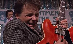 Marty Mcfly U0026 39 S Gibson Guitar Was Actually From The Future