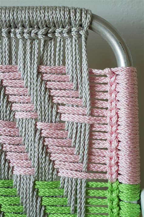 woven macrame chair tutorial deuce cities henhouse