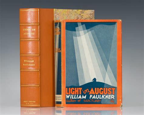 light in august light in august william faulkner edition