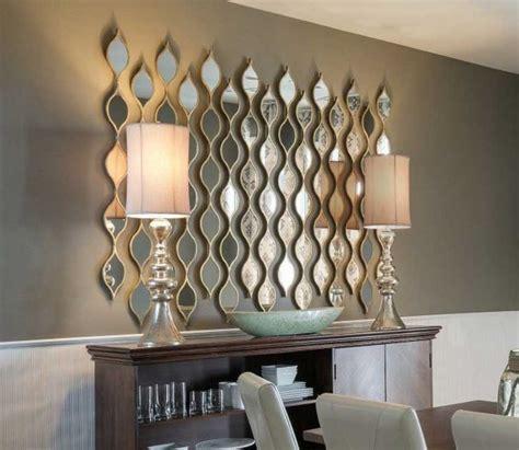 interior mirror wall art abstract art mirrors  walls