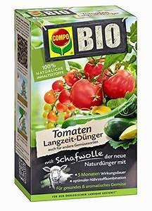 Dünger Für Tomaten : compo bio tomaten langzeit d nger mit schafwolle einzigartiger rein organischer naturd nger ~ Watch28wear.com Haus und Dekorationen