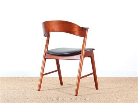 paire de fauteuils de bureau scandinave en teck galerie