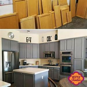 custom mixed gray kitchen cabinets general finishes With kitchen colors with white cabinets with handmade stickers