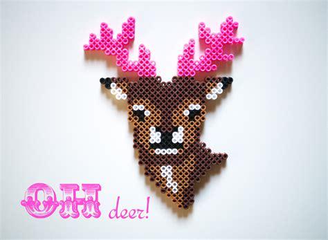Perler Bead Deer