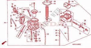 Carburetor For Honda Trx 400 Fourtrax Foreman 4x4 1995