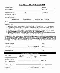 Sample Employee Application 8 Examples in PDF Word