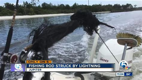 What Happens When Lightning Strikes A Boat by Lightning Strikes Boat Jupiter Blows Apart Fishing