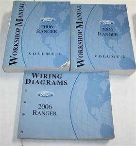 2006 Ford Ranger Manual  U0026 Wiring Diagram