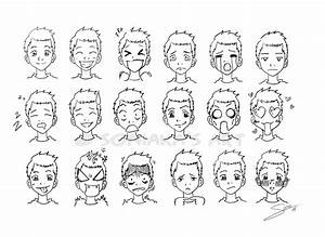 Manga facial expressions by Soniaka | ideas | Pinterest ...