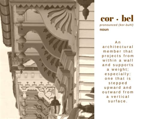 What Is Corbel by Post The Corbel
