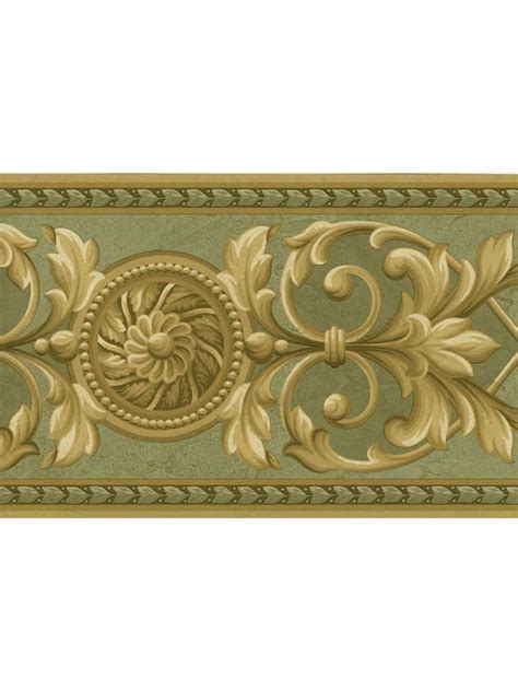 Wallpaper Border by Wallpaper Borders Crown Moulding Wallpaper Border