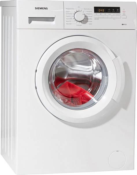 exquisit waschmaschine 6 kg siemens waschmaschine iq100 wm14b2eco 6 kg 1400 u min kaufen otto
