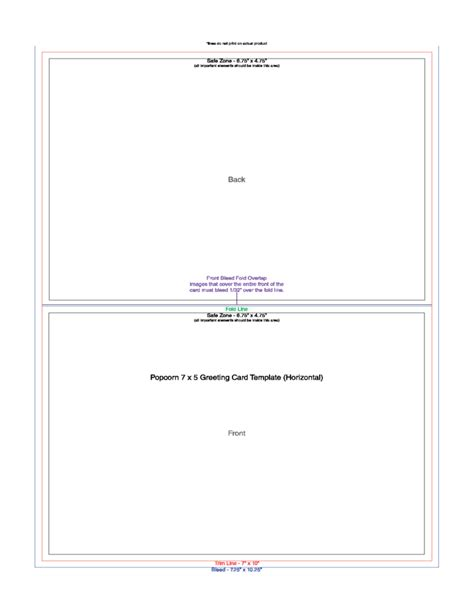 Greeting Card Template Sle Greeting Card Template Free