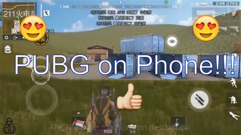 best pubg on mobile phone gameplay with apk
