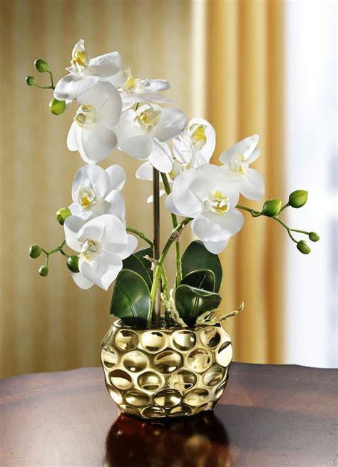 kunst orchidee im topf orchidee im topf kunst textilpflanzen brigitte