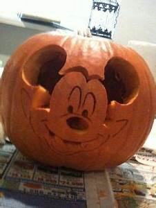 princess pumpkin carving disney pumpkin carving examples With vampire mickey mouse pumpkin template