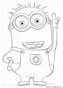 How to draw Minion Dave | Step by step Drawing tutorials