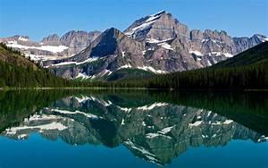 Mountain, Lake, Reflections, Hd, Nature, 4k, Wallpapers