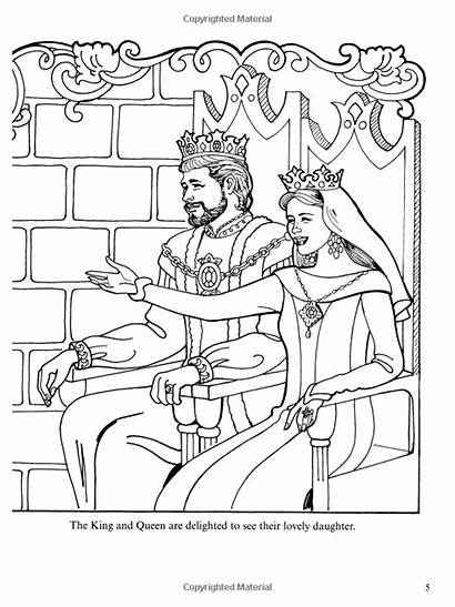 Coloring Pages Queen Leonora Princess King Adult