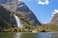 Fjord New Zealand Waterfalls