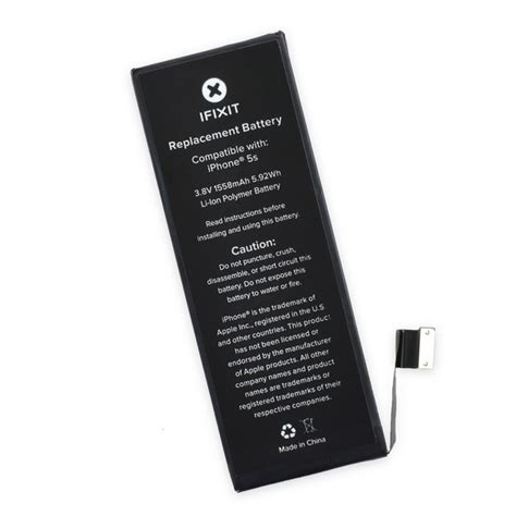replace iphone 5s battery iphone 5s replacement battery fix kit ifixit