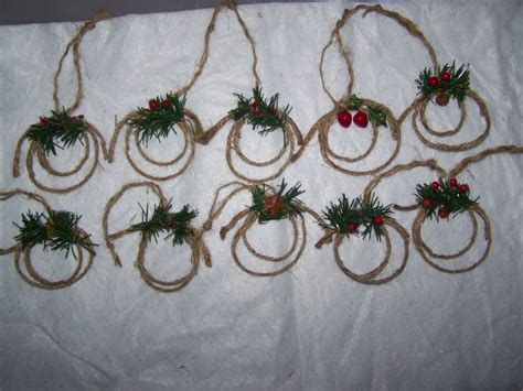 10 christmas ornaments country western cowboy lasso lariat