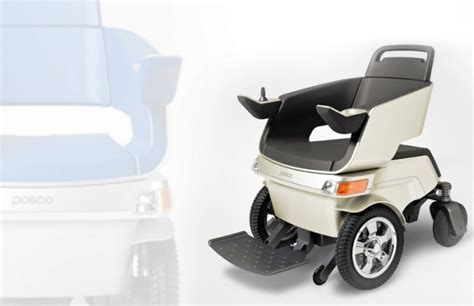 posco smart chair electric wheelchair takes a leap ahead