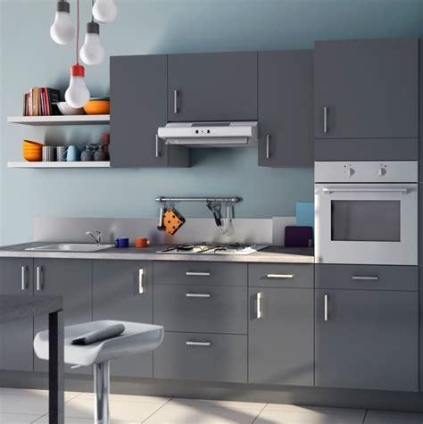 cuisine couleur gris bleu cuisine casto 2013 bleu givré et gris photo 20 20 une