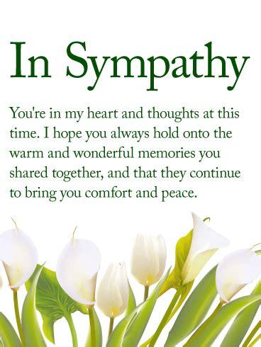 heart sympathy card birthday greeting