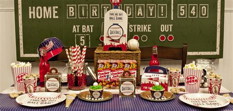 Baseball Time  Birthday Express