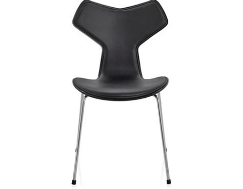 chaise grand prix jacobsen grand prix chair front upholstered hivemodern com