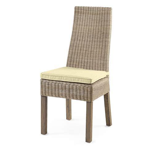 chaise en osier chaise de cuisine en osier chaise de cuisine grise chaise de cuisine en rotin calvi rotin design