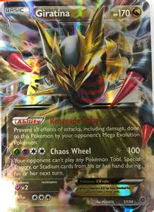 pokemon tcg xy ancient origins giratina ex 57 98 ebay