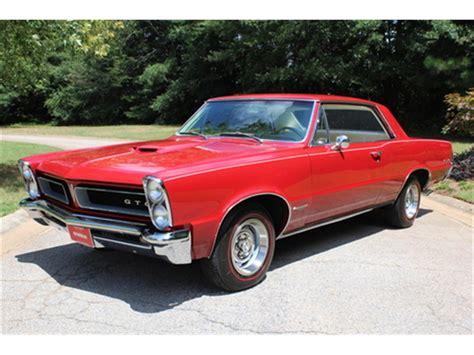 1965 Pontiac Gto For Sale On Classiccars.com