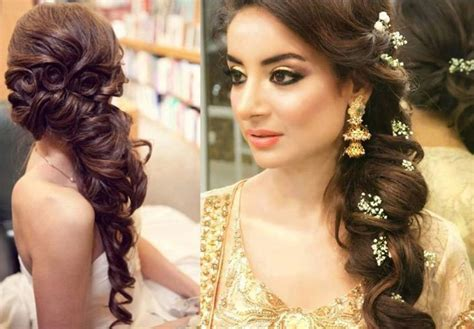 traditional indian bridal hairstyles   wedding