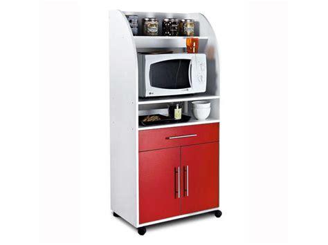 meuble cuisine micro onde meuble micro ondes et desserte pas cher promo et soldes