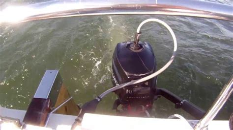 Small Boat Fuel Tanks by Converting A Small Outboard To A Remote Gas Tank Part 2