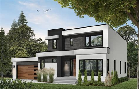 Contemporary Style House Plan 3 Beds 2 5 Baths 2042 Sq