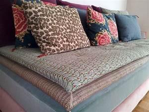 comment transformer un lit d39une personne en jolie With tapis chambre bébé avec canape divan lit