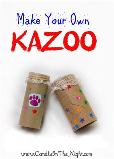 musical crafts for make your own kazoo early 832 | 4222f4670a8378e9d1e2b928501fc803 musical instrument crafts for kids preschool music themed crafts for kids