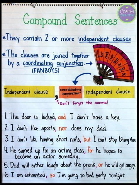 exploring compound sentences compound sentences
