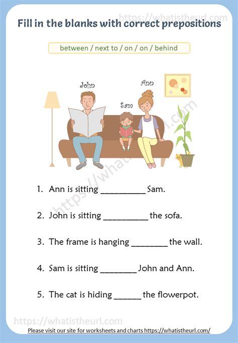 prepositions  pictures worksheet rel   home teacher