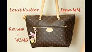 REVIEW + WHAT'S IN MY BAG LOUIS VUITTON Iena MM - YouTube