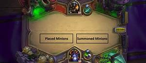 General Rules For Minion Placement  With A Little Logic