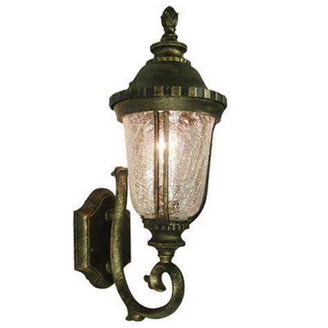tp lighting golden black outdoor wall lighting fixture