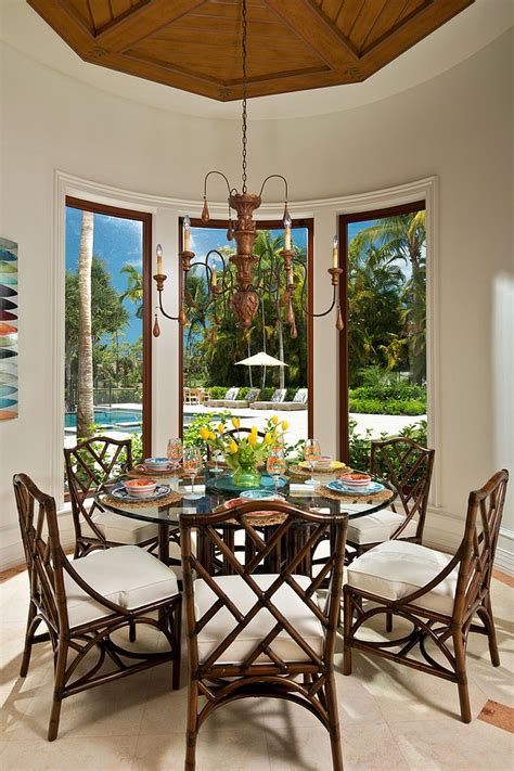 tropical dining room 10 vibrant tropical dining rooms with colorful zest Tropical Dining Room